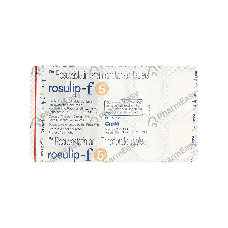 Rosulip F 5mg Tablet