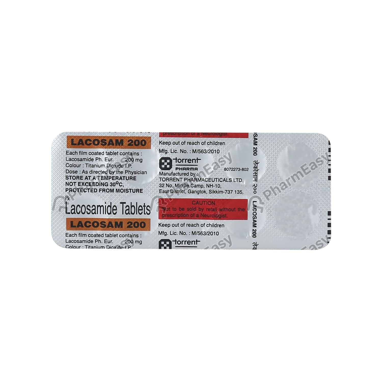 Lacosam 200mg Tablet