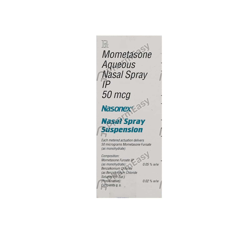 Nasonex 50mcg Nasal Spray 140md