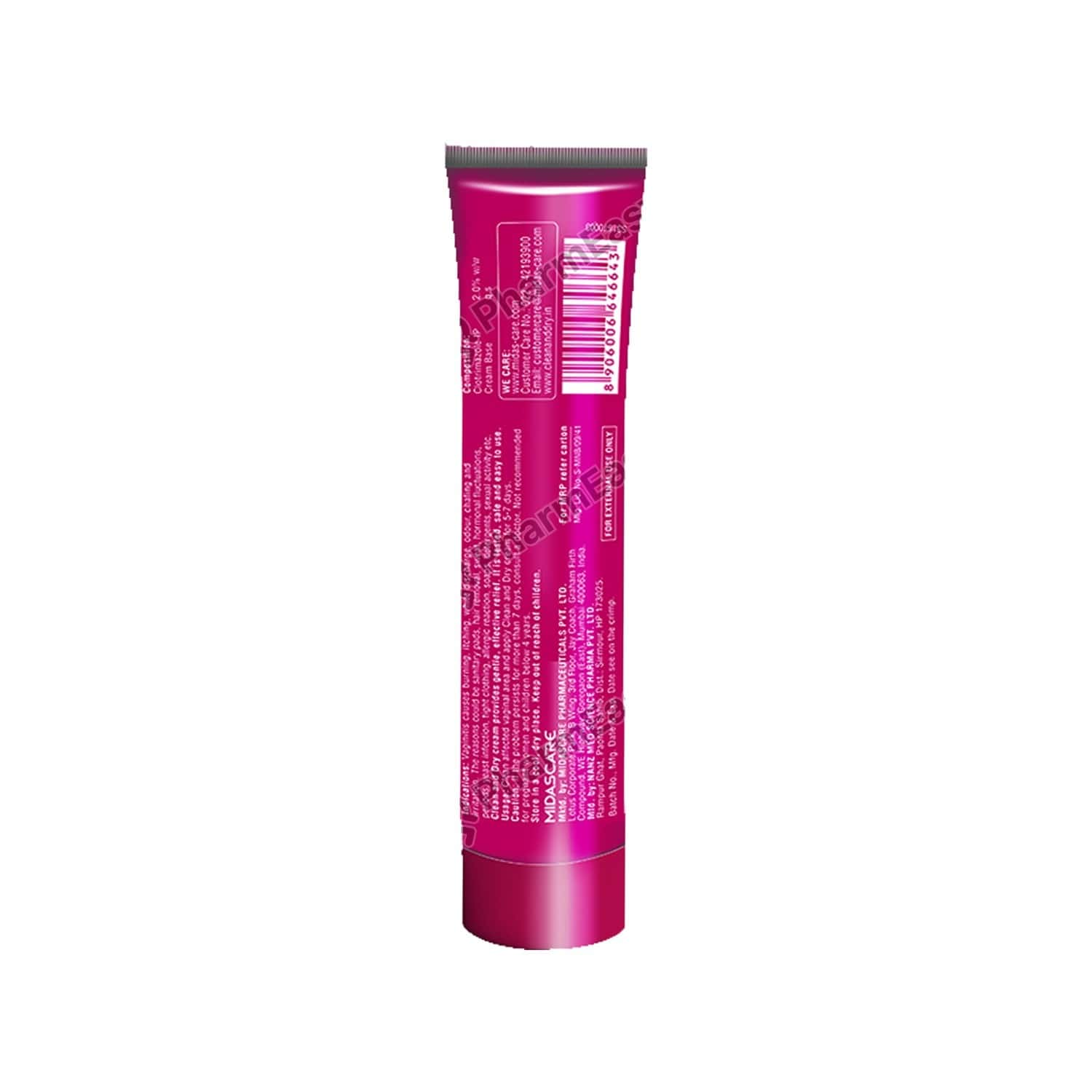 Clean And Dry Tube Of - 15 G Cream