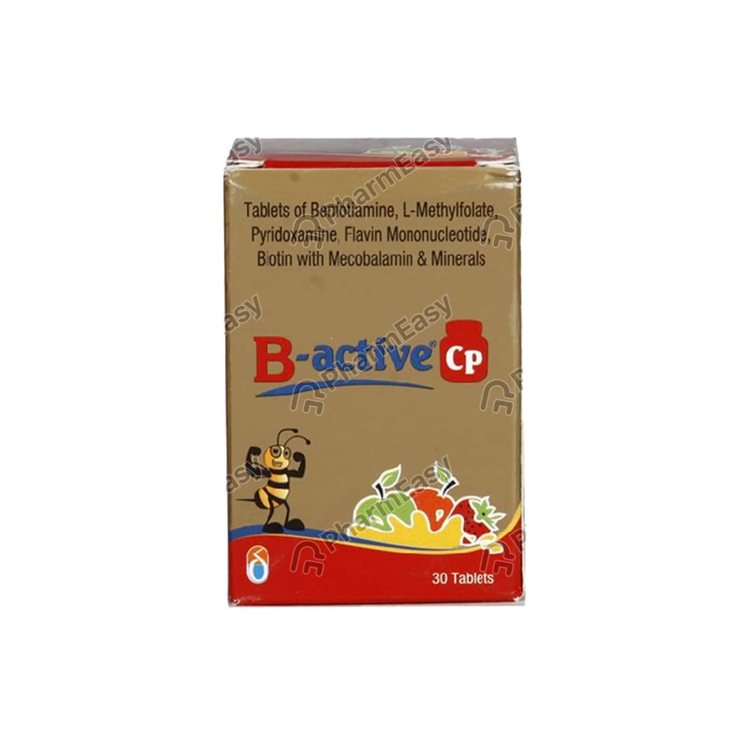 B Active Cp Bottle Of 30 Tablets