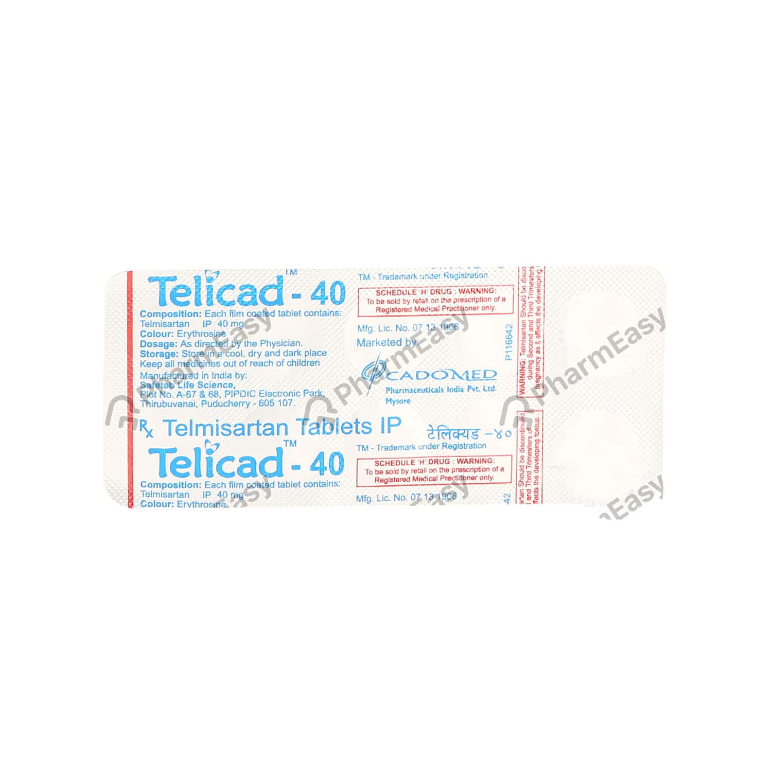 Telicad 40mg Tablet