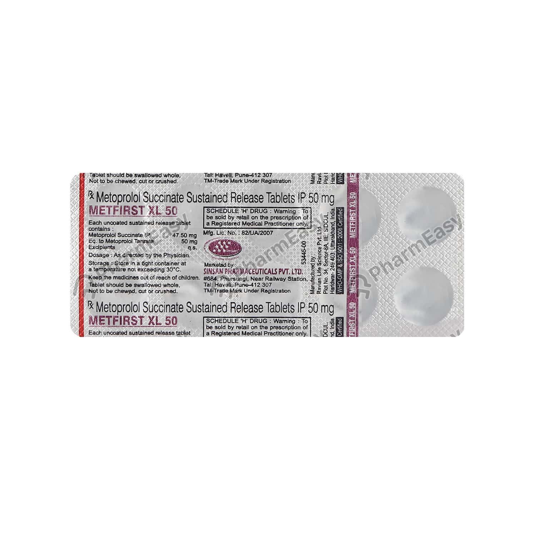 Metfirst Xl 50mg Tablet