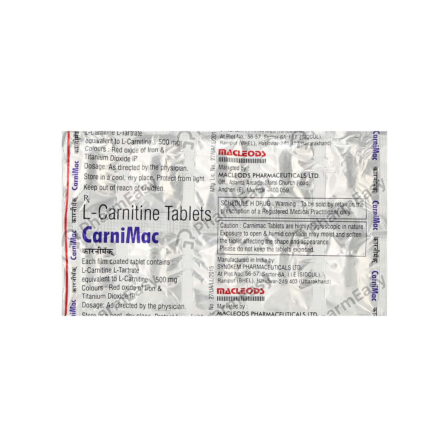Carnimac 500mg Tablet