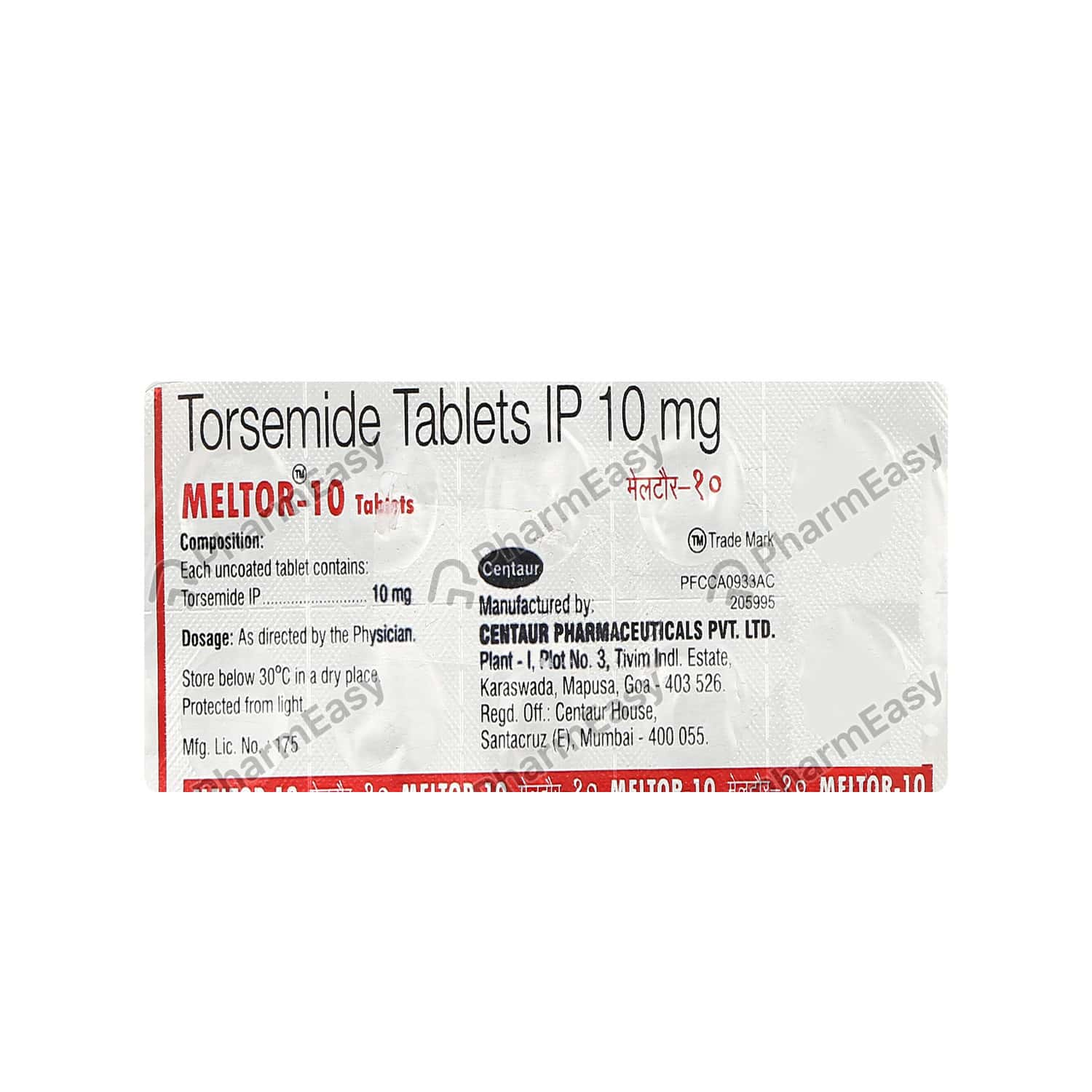 Meltor 10mg Tablet