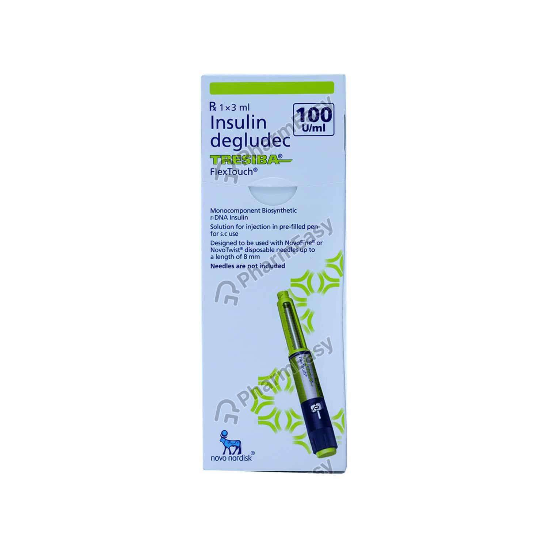 Tresiba 100iu Flex Touch Pen Injection 3ml