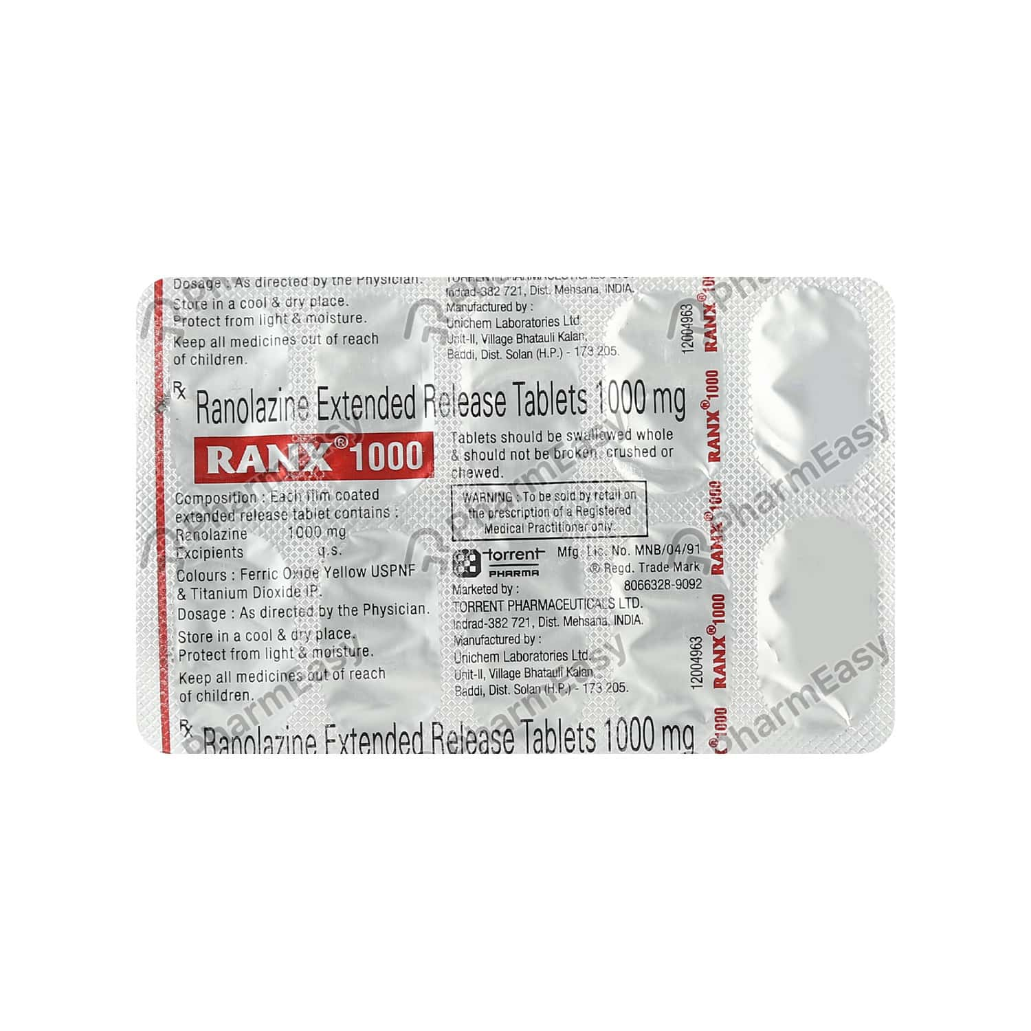 Ranx 1gm Tablet