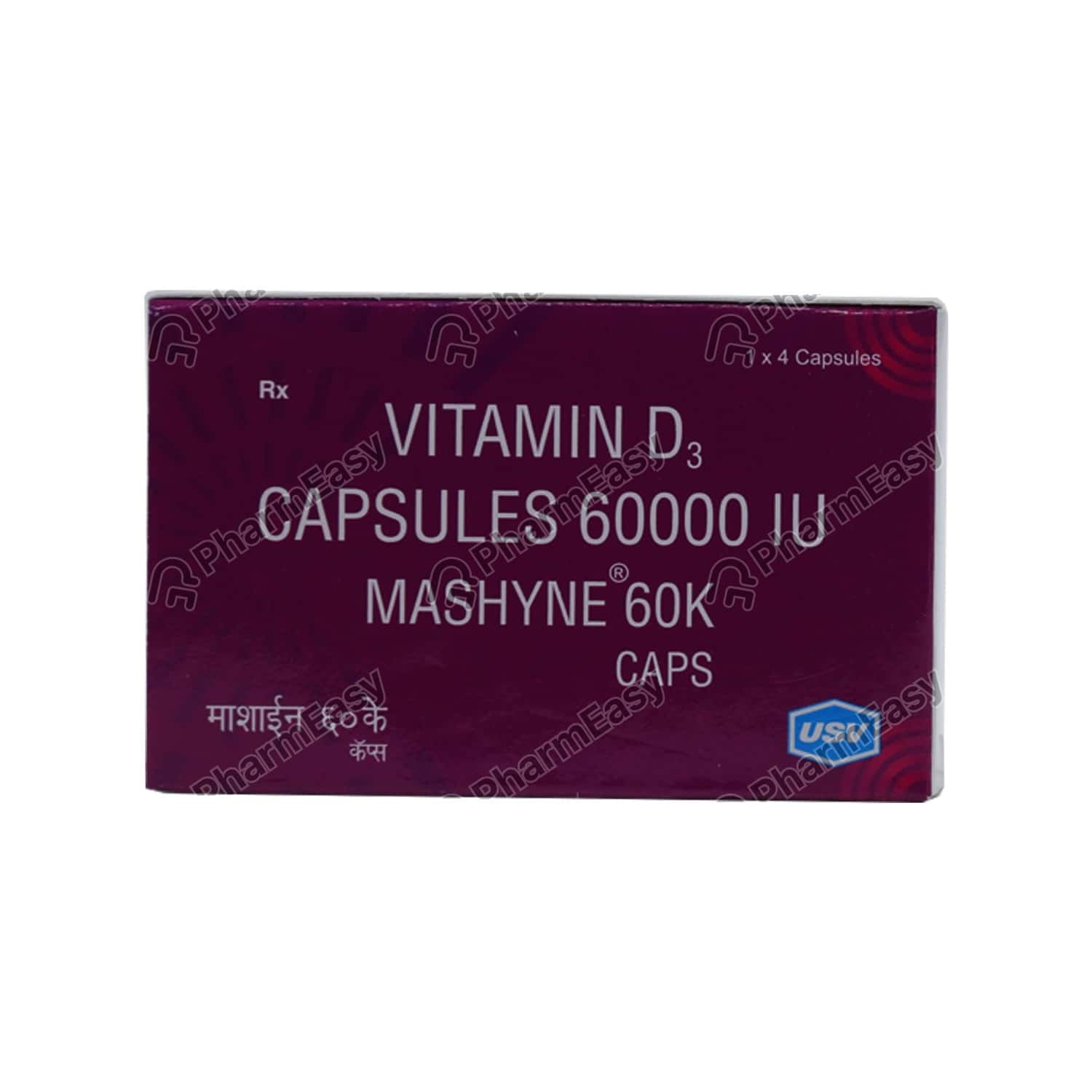 Mashyne 60k Strip Of 4 Capsules