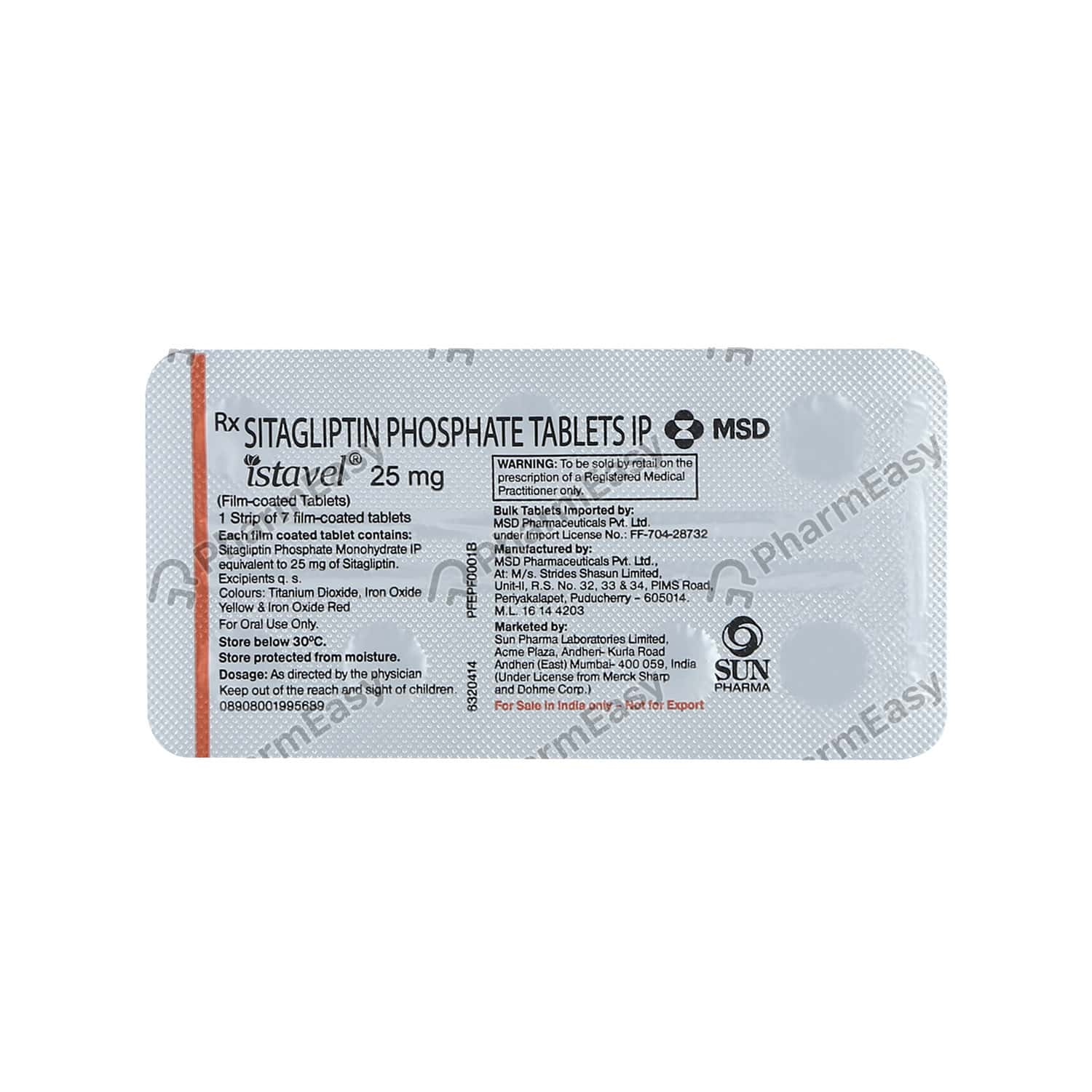 Istavel 25mg Tablet