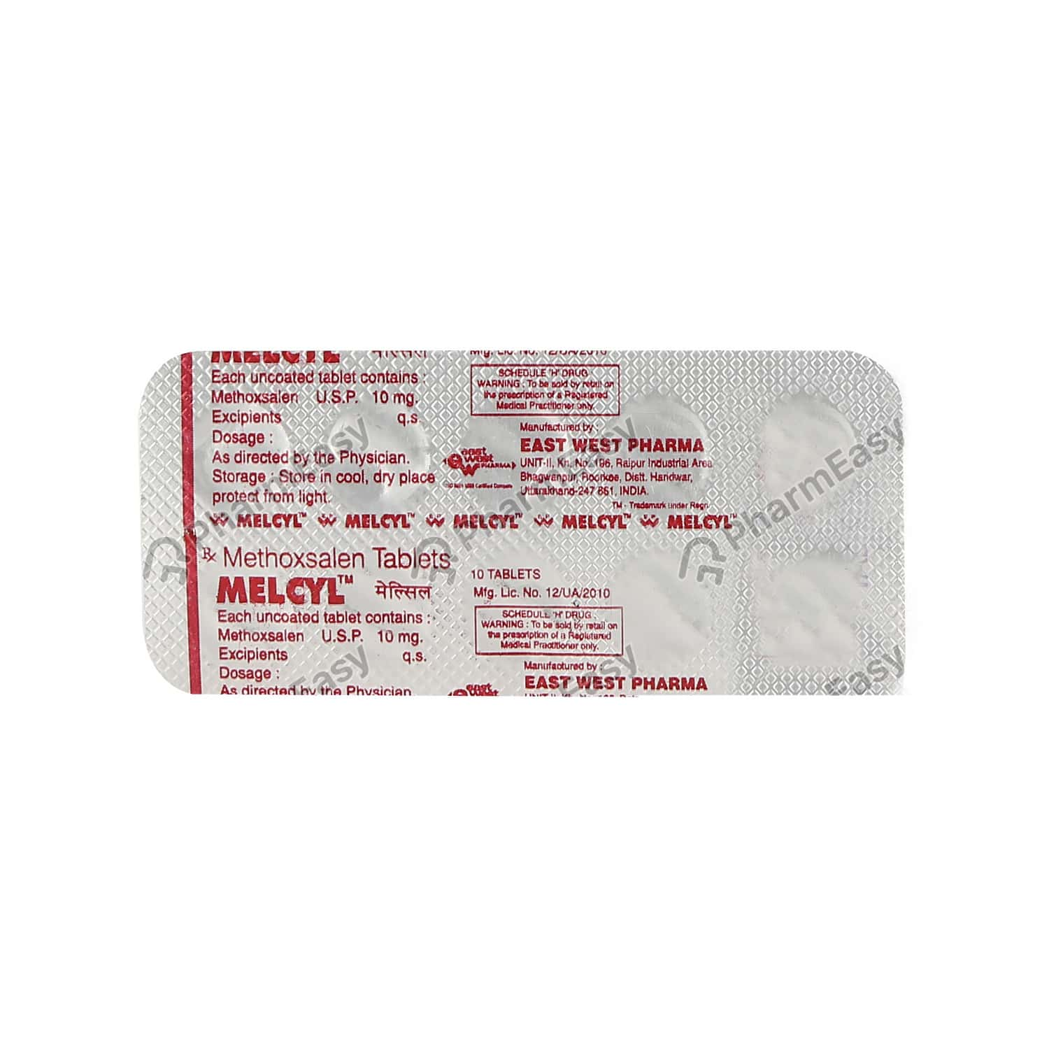 Melcyl 10mg Tablet
