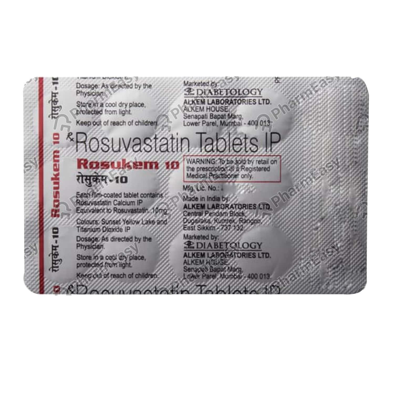 Rosukem 10mg Tablet