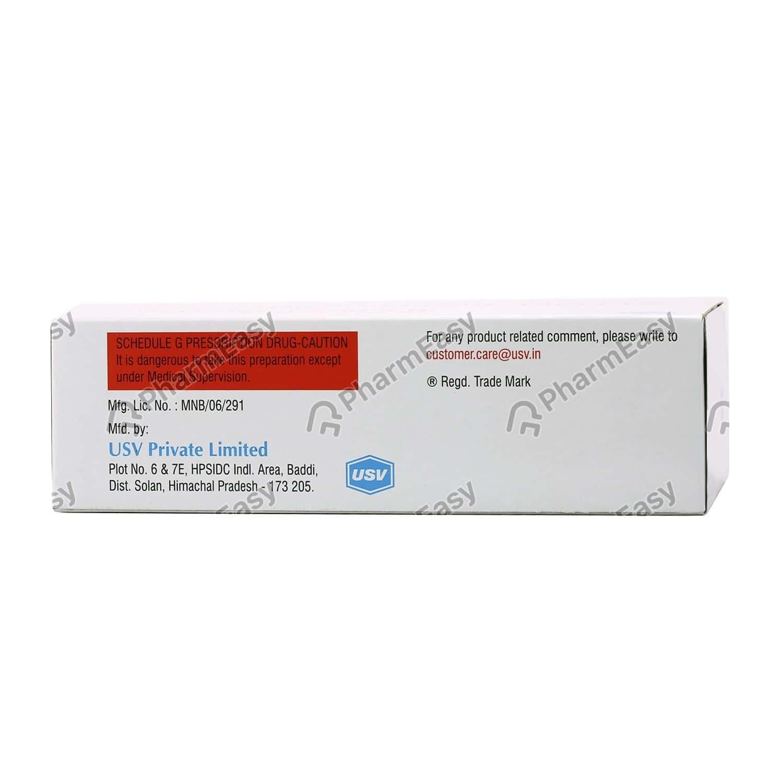 Glycomet Sr 500mg Strip Of 20 Tablets