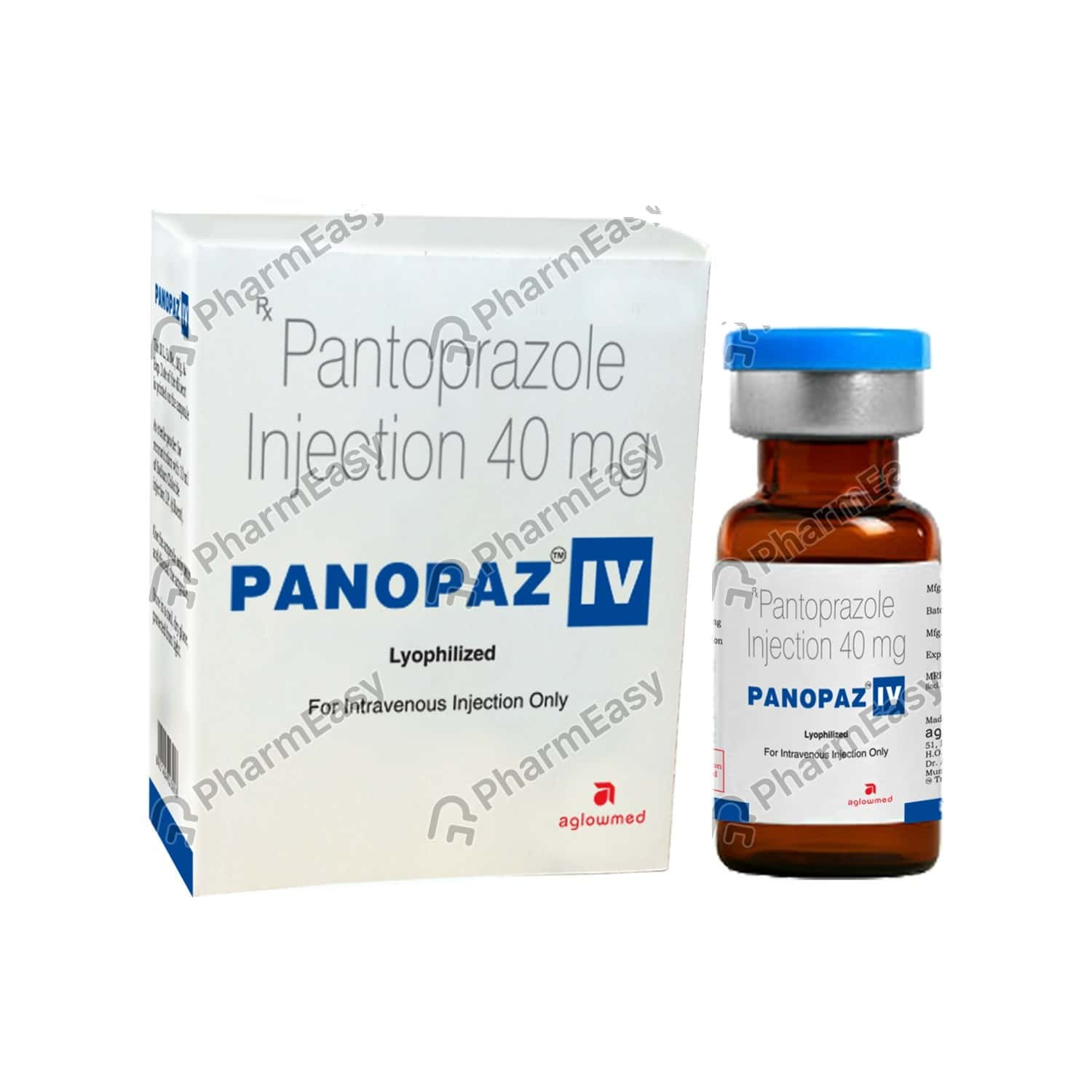 Panopaz Iv 40mg Vial Of 0.04gm Of Powder For Injection