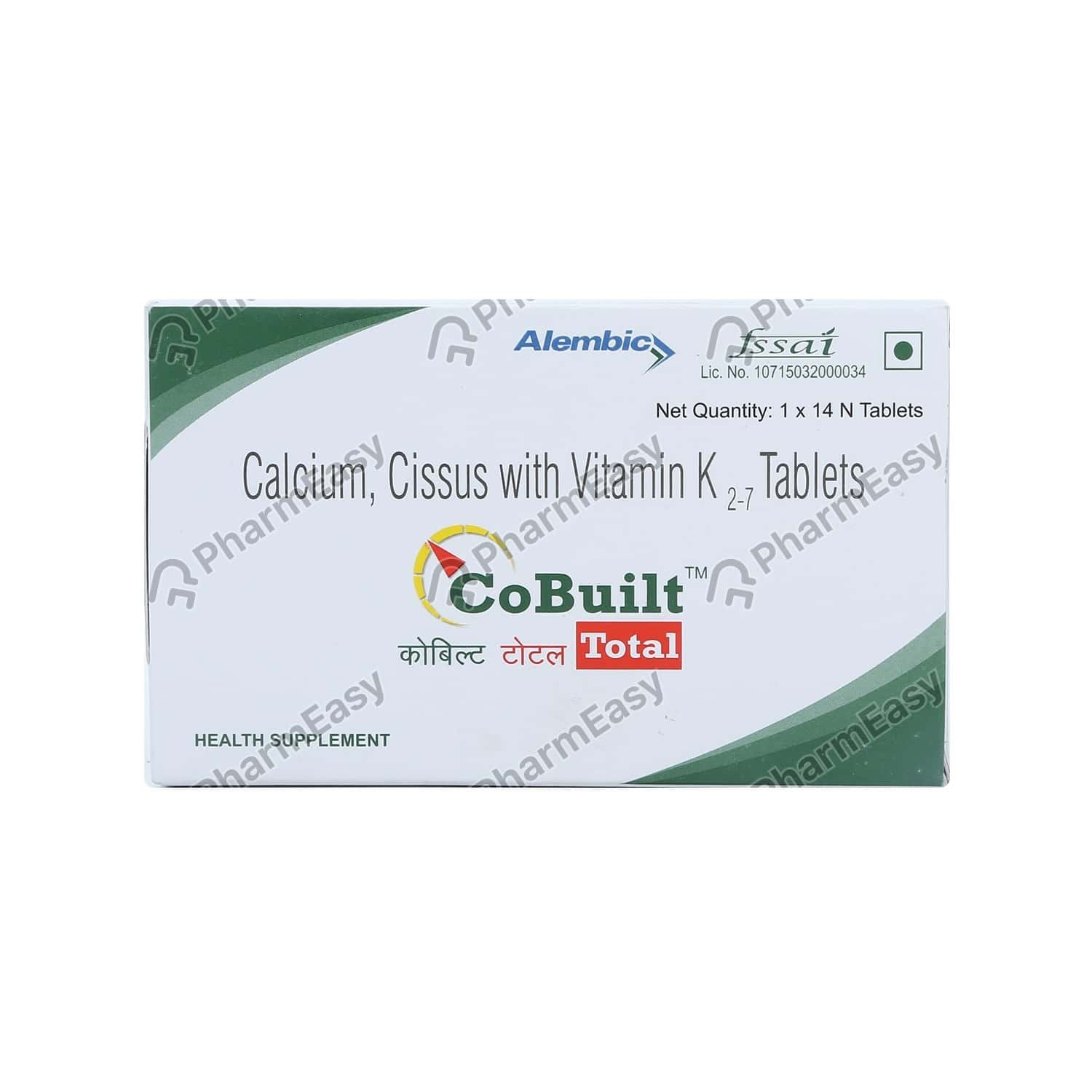 Cobuilt Total Strip Of 14 Tablets
