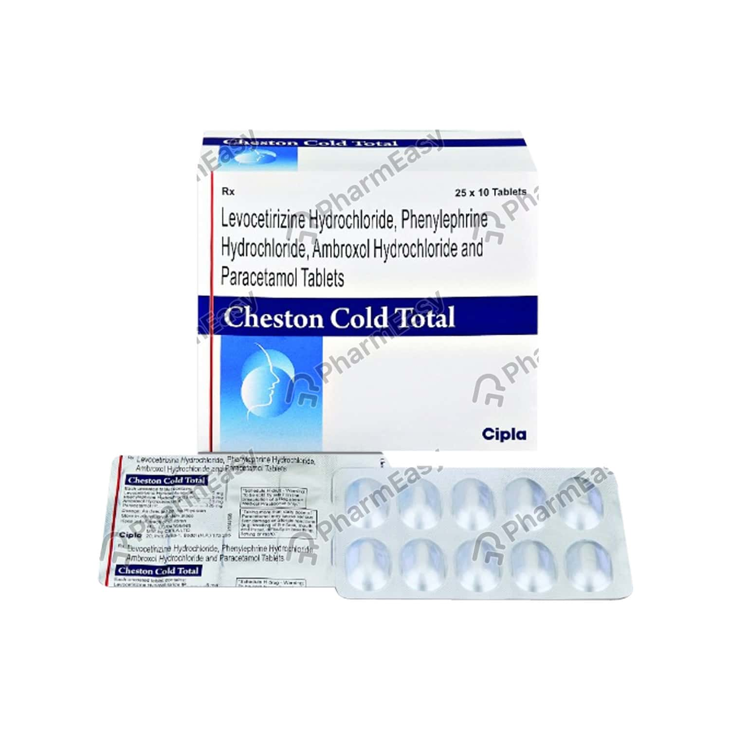 Cheston Cold Total Tablet 10's