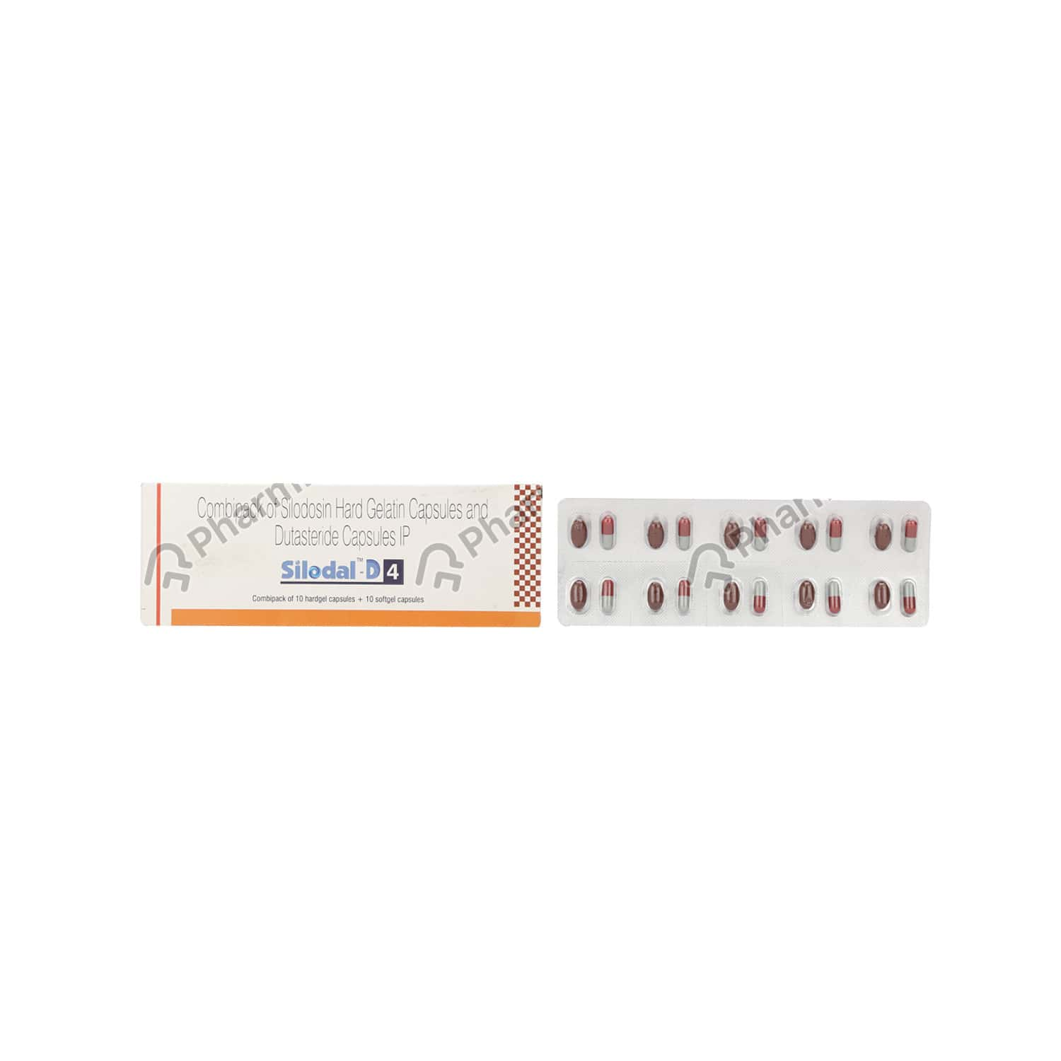 Silodal D 4mg Combipack Capsule 20's
