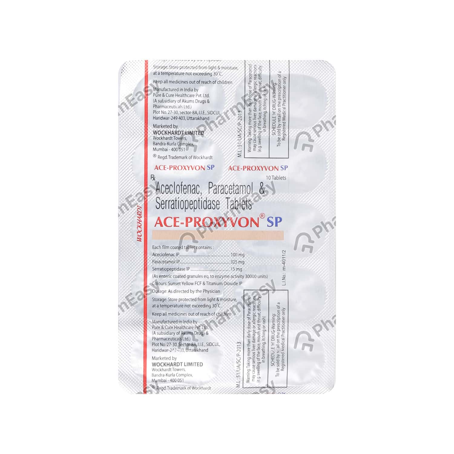 Ace Proxyvon Sp Tablet
