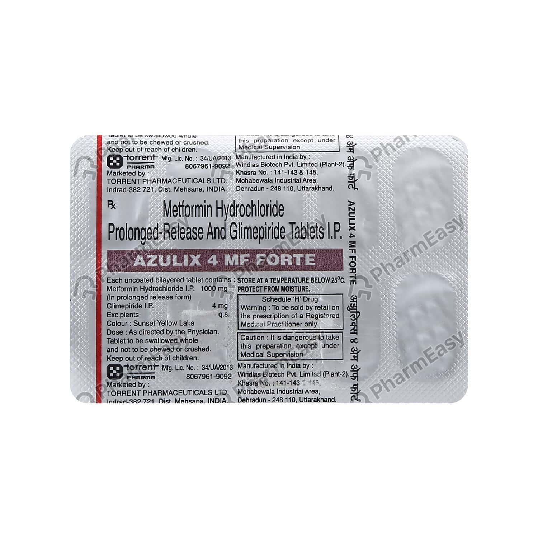 Azulix Mf Forte 4mg Tab