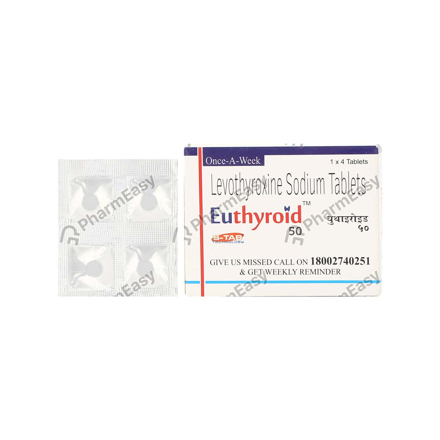 Euthyroid 50mcg Tablet