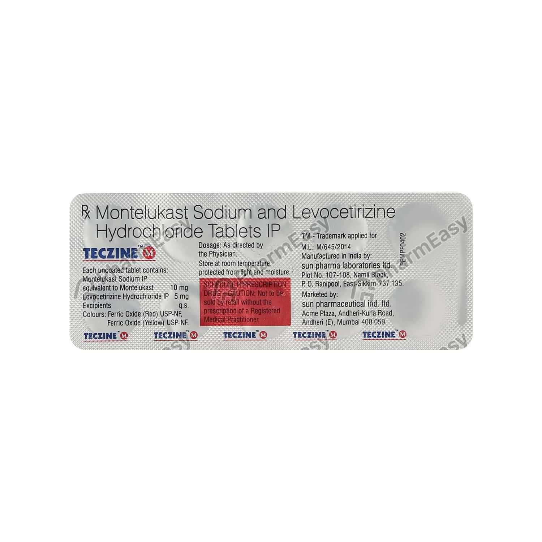 Teczine M Tablet