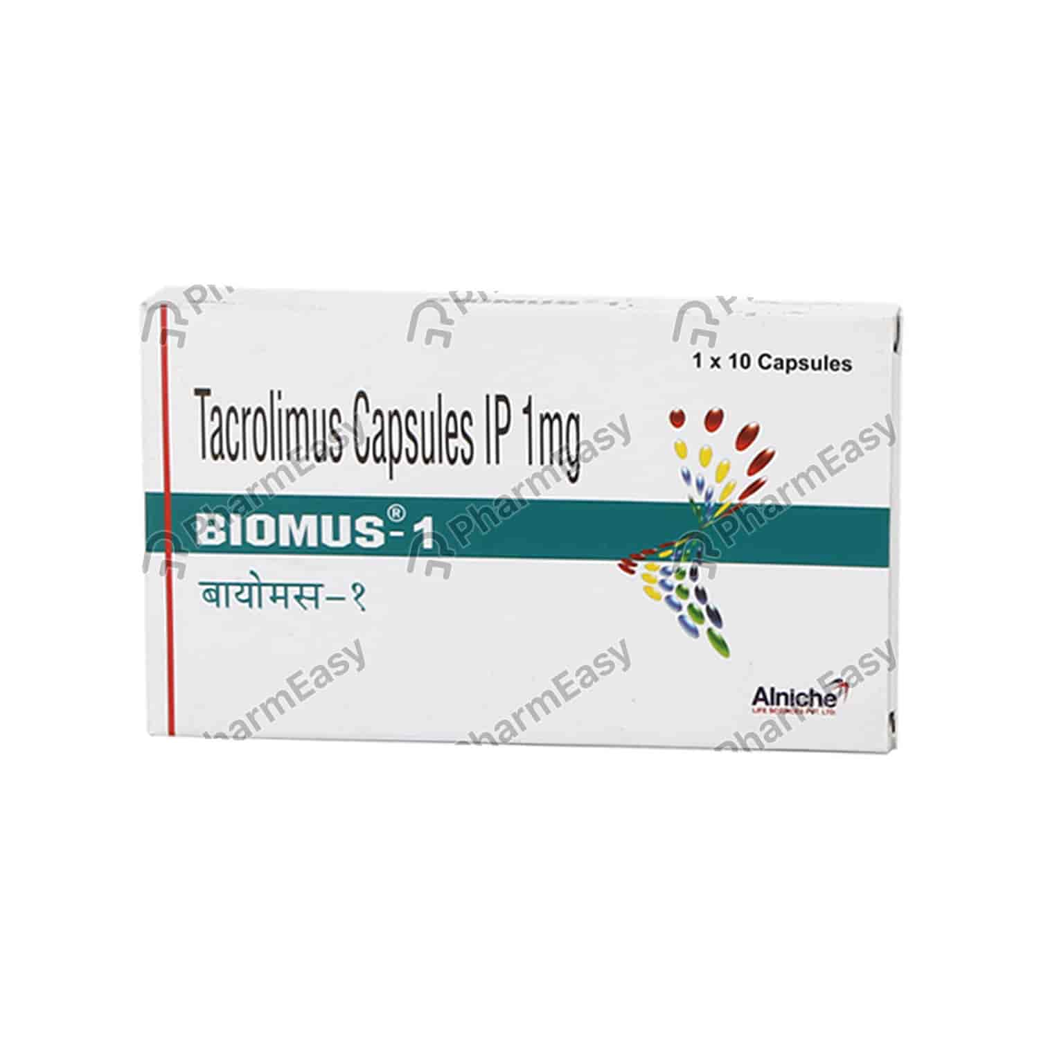 Biomus 1mg Strip Of 10 Capsules