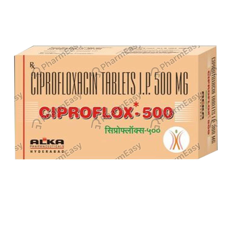 Ciproflox 500mg Tablet
