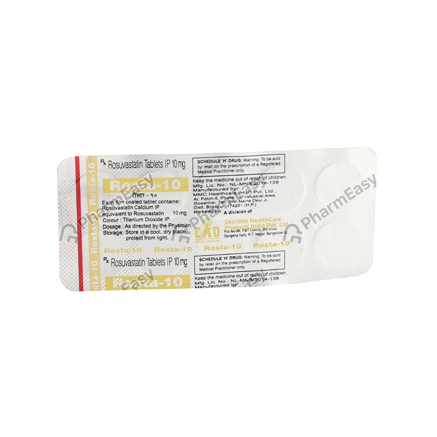 Rosta 10mg Tablet