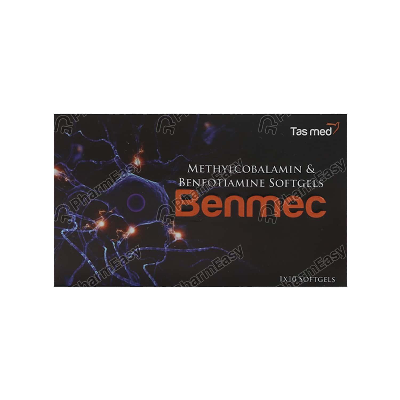 Benmec Strip Of 10 Capsules