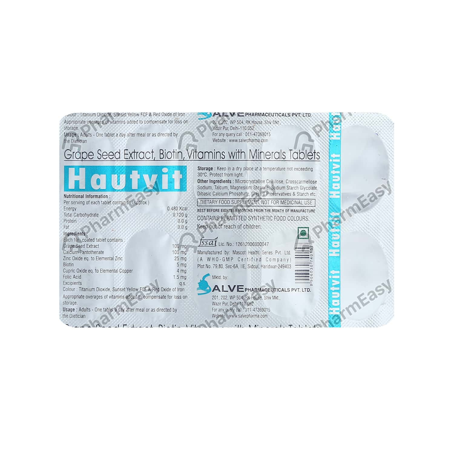 Hautvit Tablet