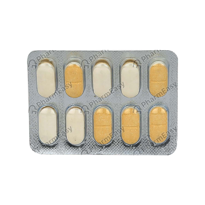 Glimfirst Mv 2mg Strip Of 10 Tablets