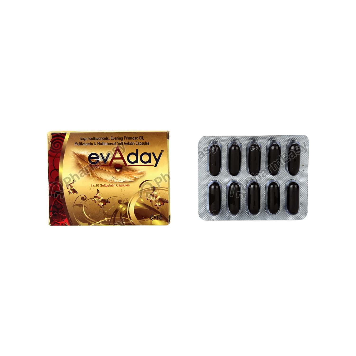 Evaday Strip Of 10 Capsules