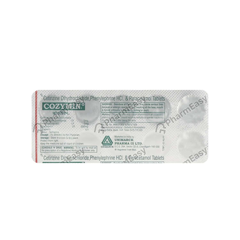 Cozymin Strip Of 10 Tablets