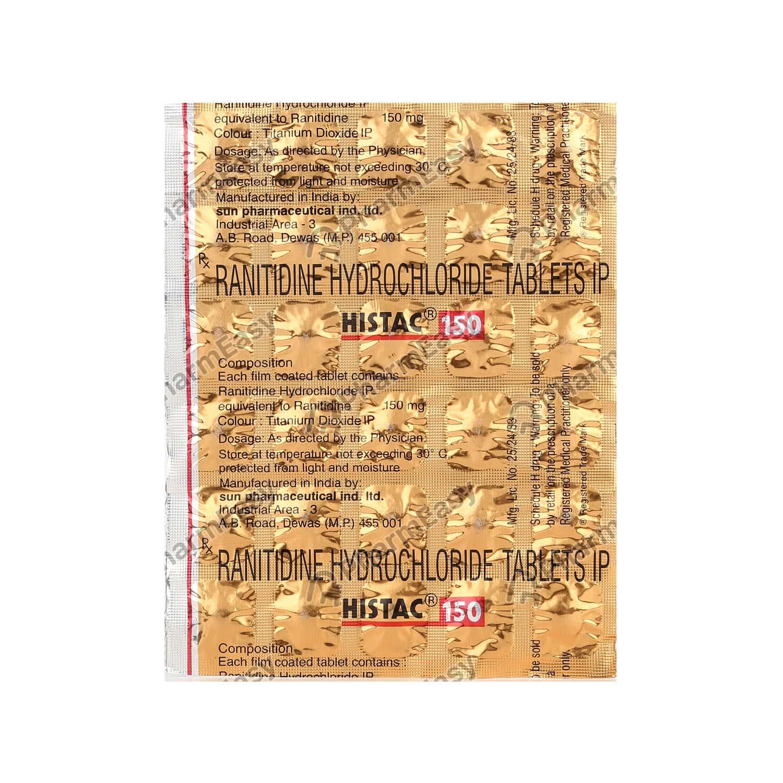 Histac 150mg Strip Of 30 Tablets