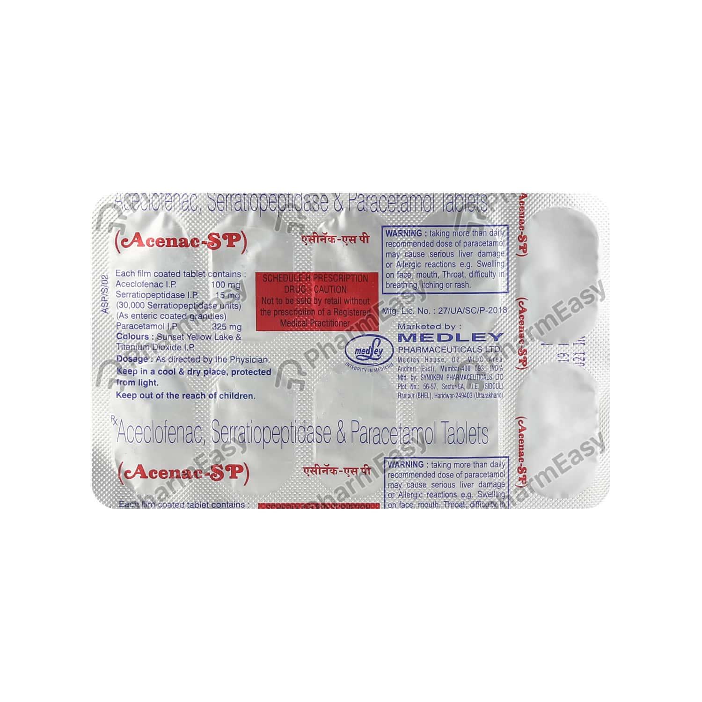 Acenac Sp Tablet