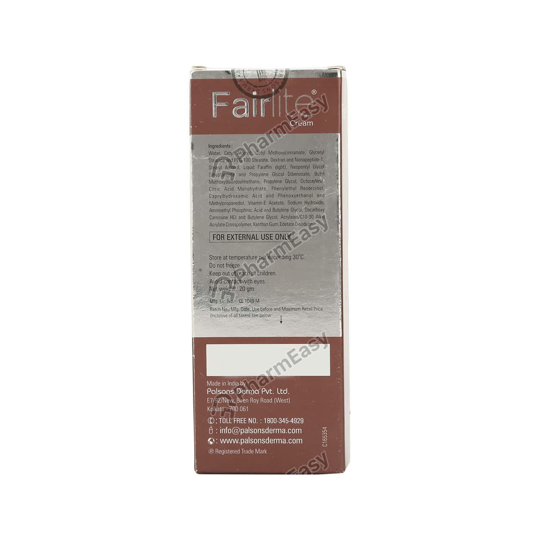 Fairlite Cream 20gm