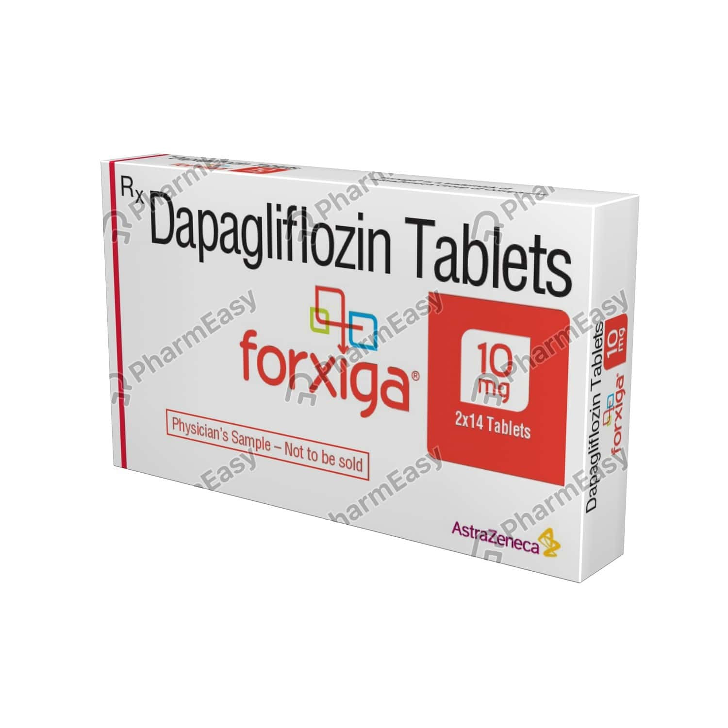 Forxiga 10mg Strip Of 14 Tablets