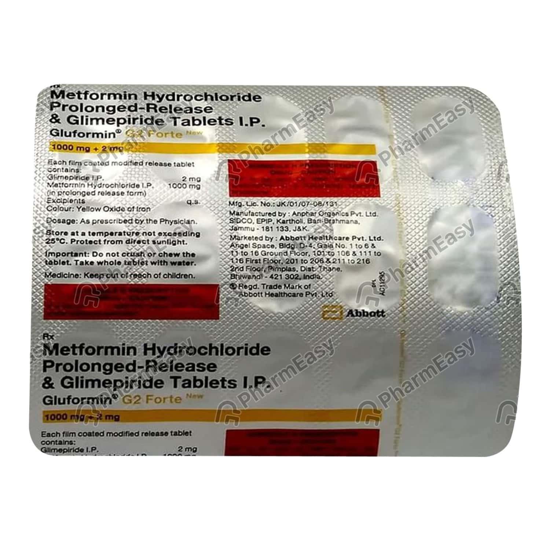 Gluformin G2 Tablet 15's