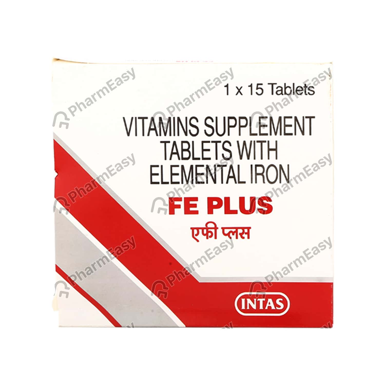 Fe Plus Strip Of 15 Tablets