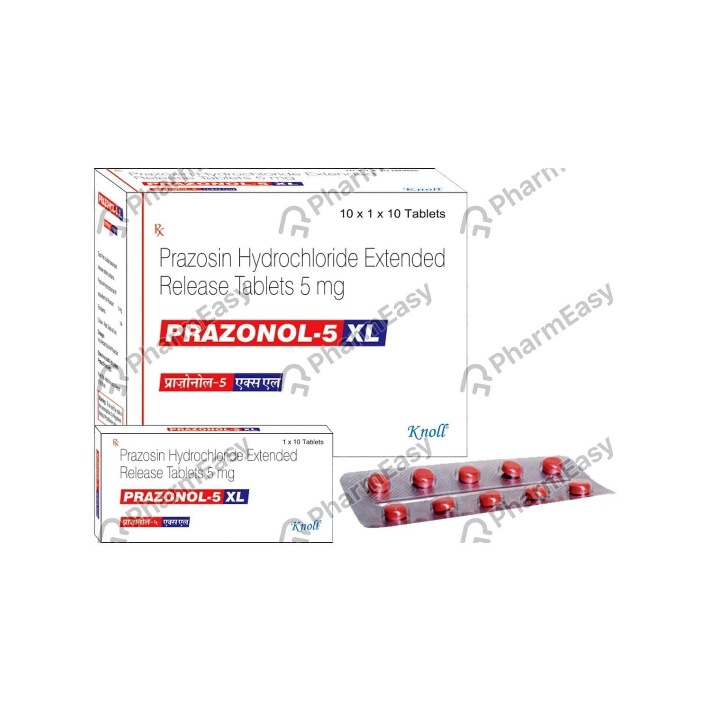 Prazonal Xl 5mg Strip Of 10 Tablets