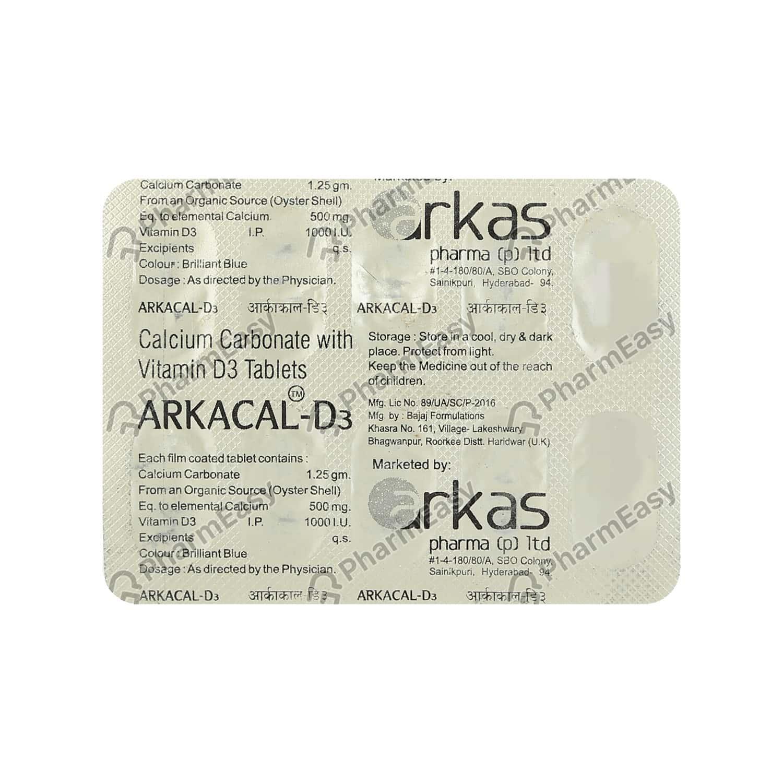 Arkacal D3 Tablet