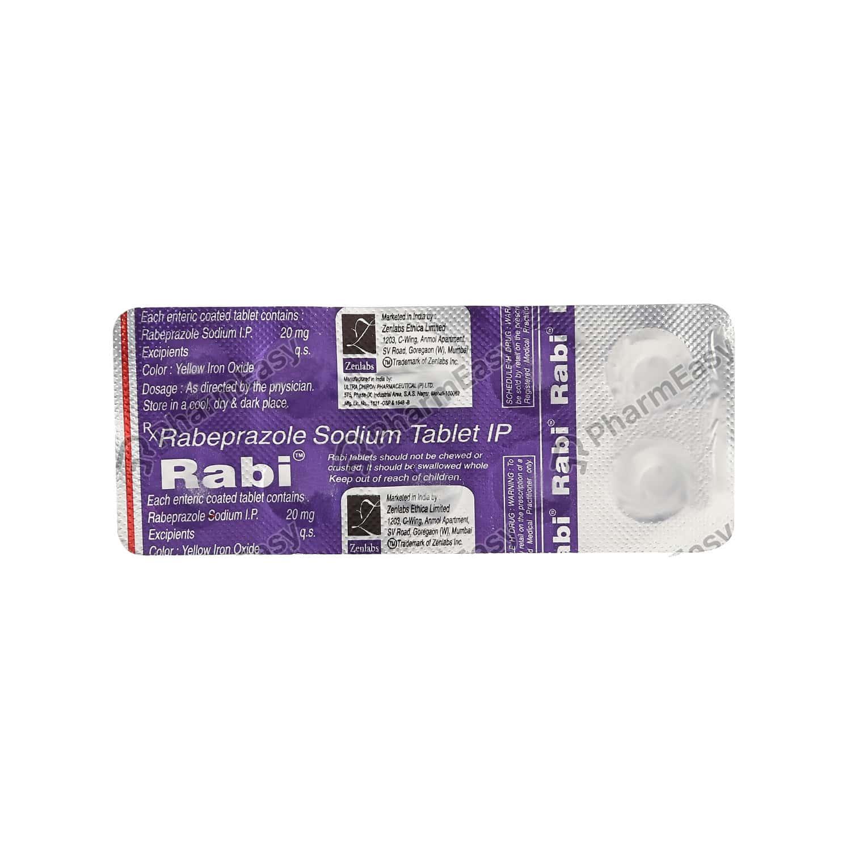 Rabi 20mg Tablet