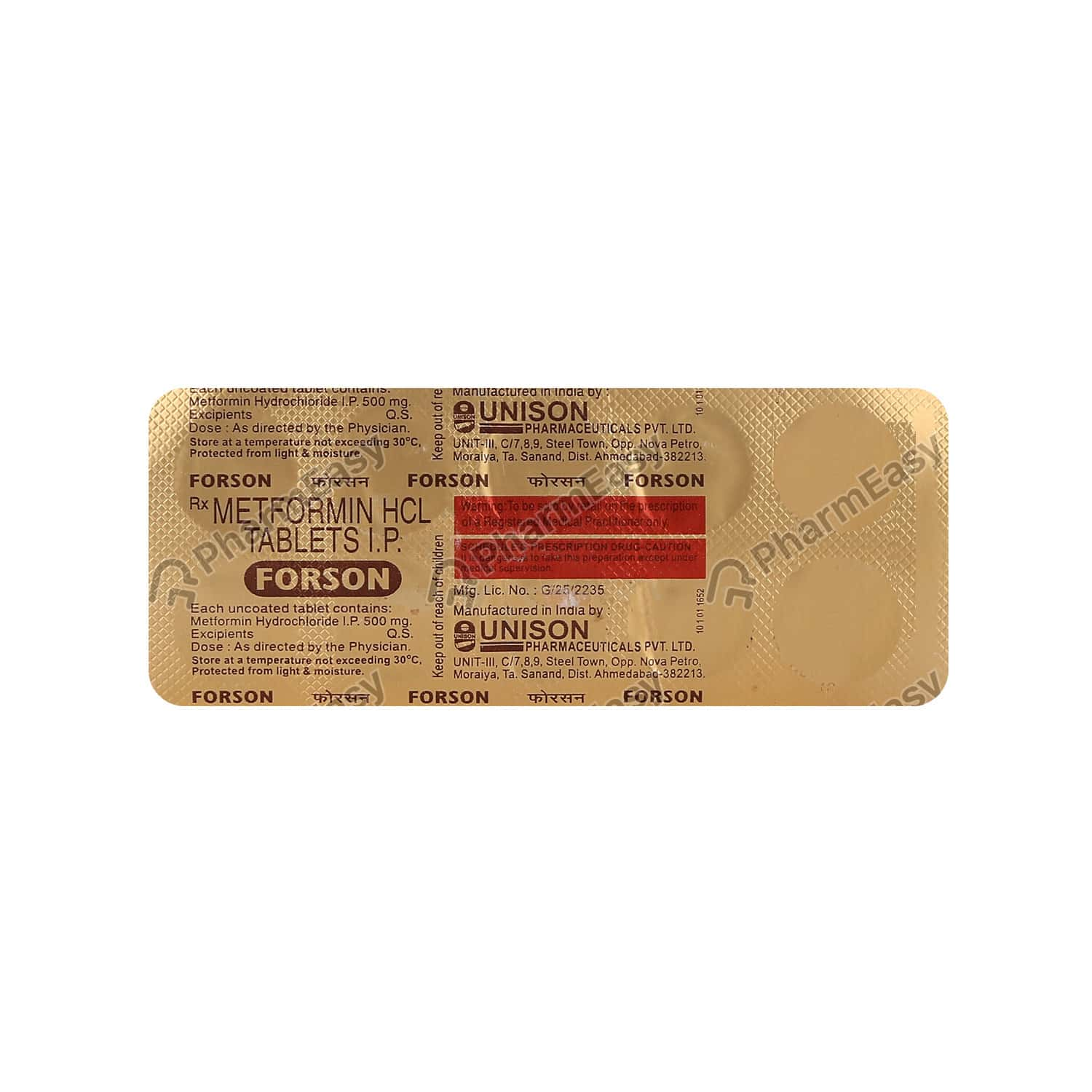 Forson 500mg Tablet