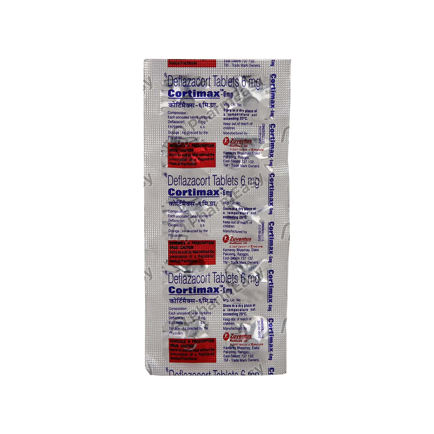 Cortimax 6mg Strip Of 10 Tablets