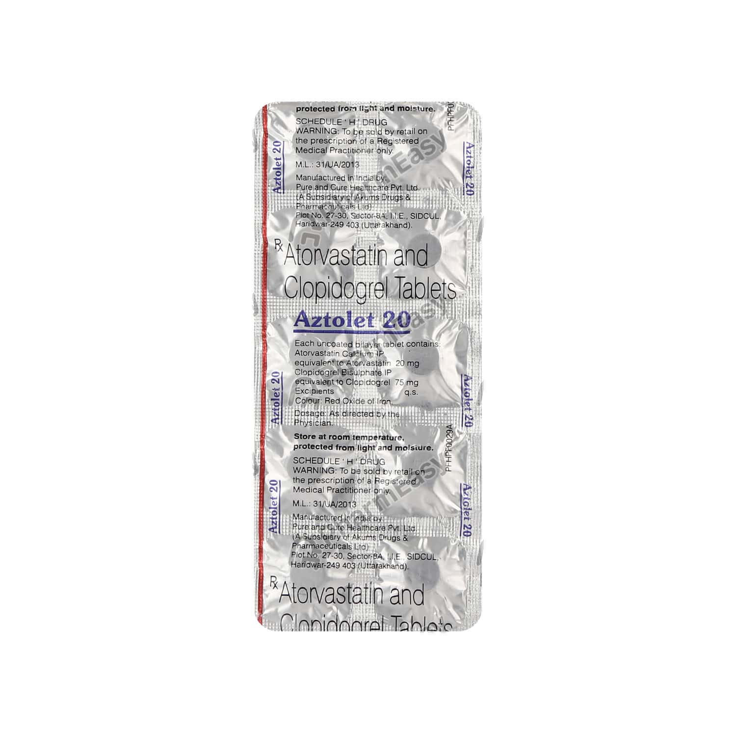 Aztolet 20mg Tablet
