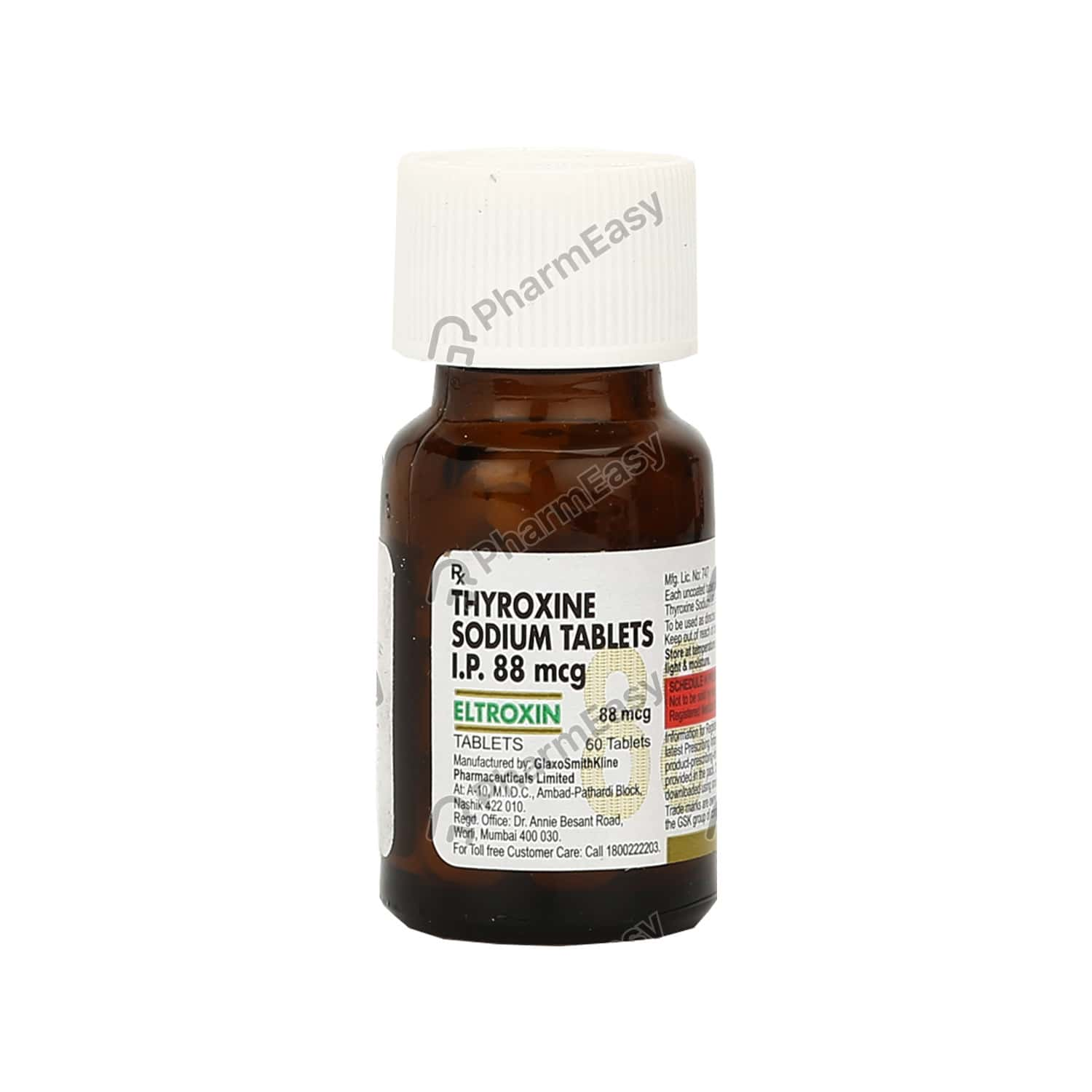 Eltroxin 88mcg Tablet