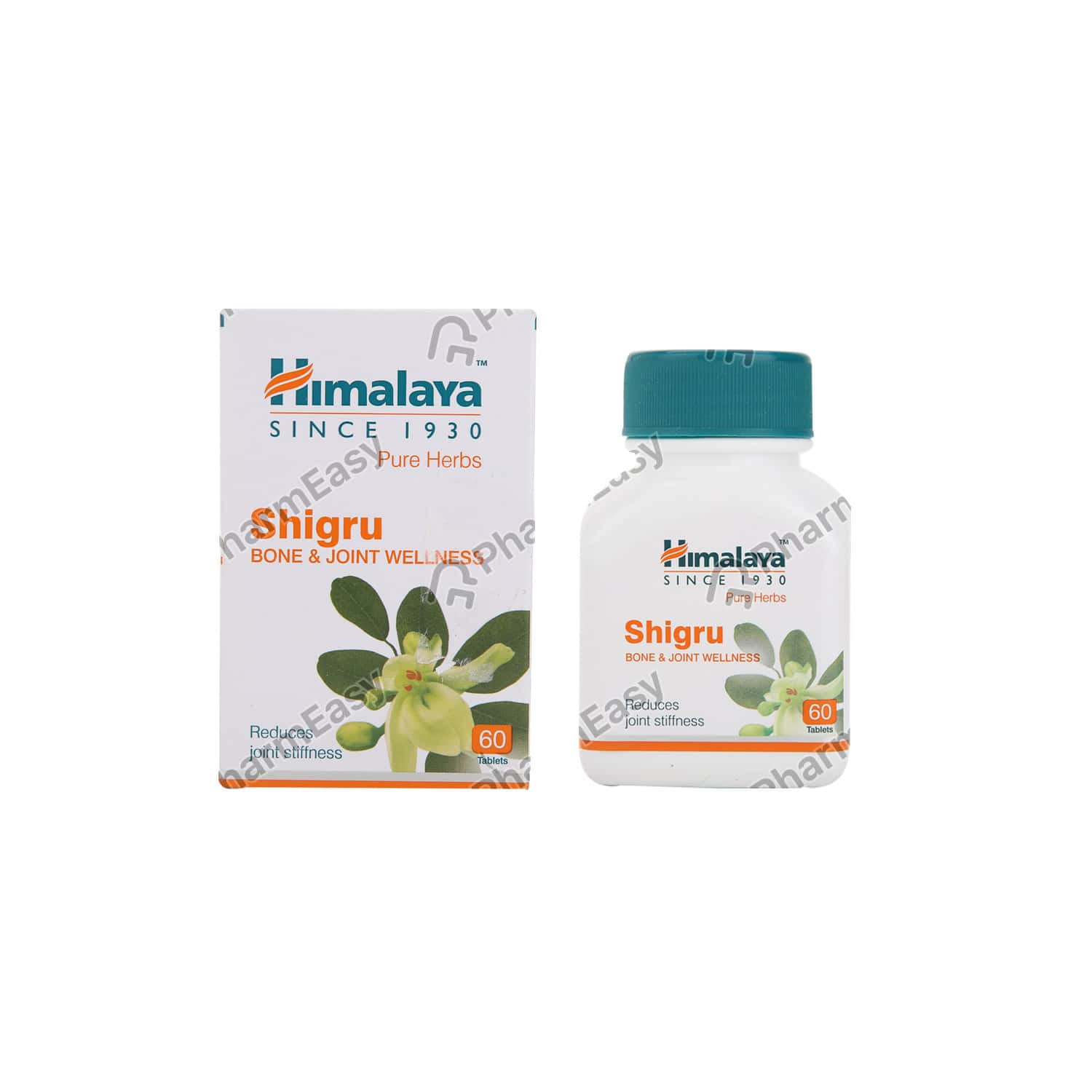 Himalaya Wellness Pure Herbs Shigru (60 Tabs) - Bone & Joint Wellness