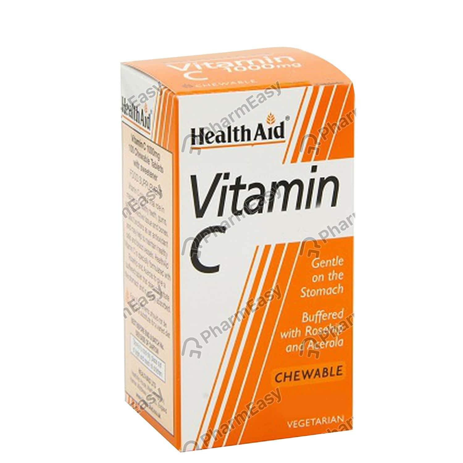 Health Aid Vitamin C 1000mg Pr Tab 100's