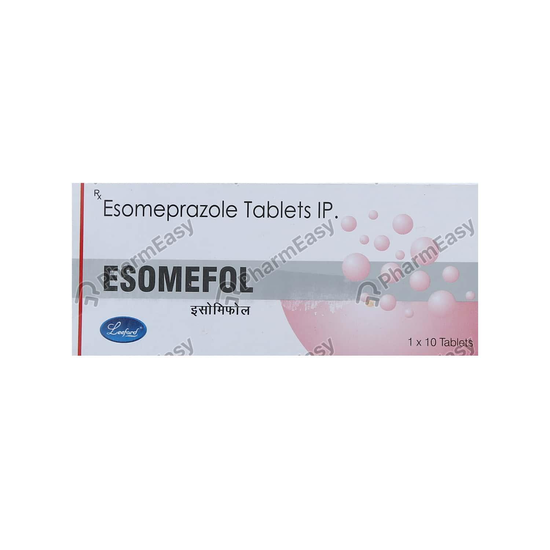 Esomefol 40mg Strip Of 10 Tablets