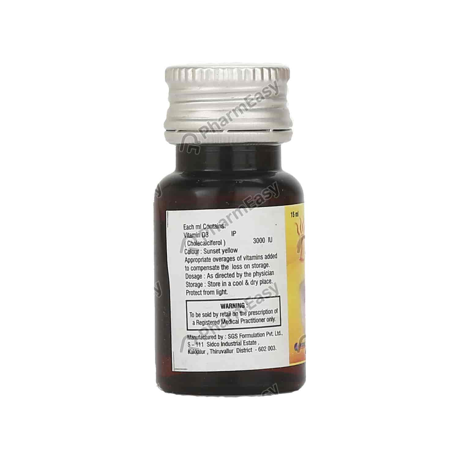 Dvital Oral Solution 15ml
