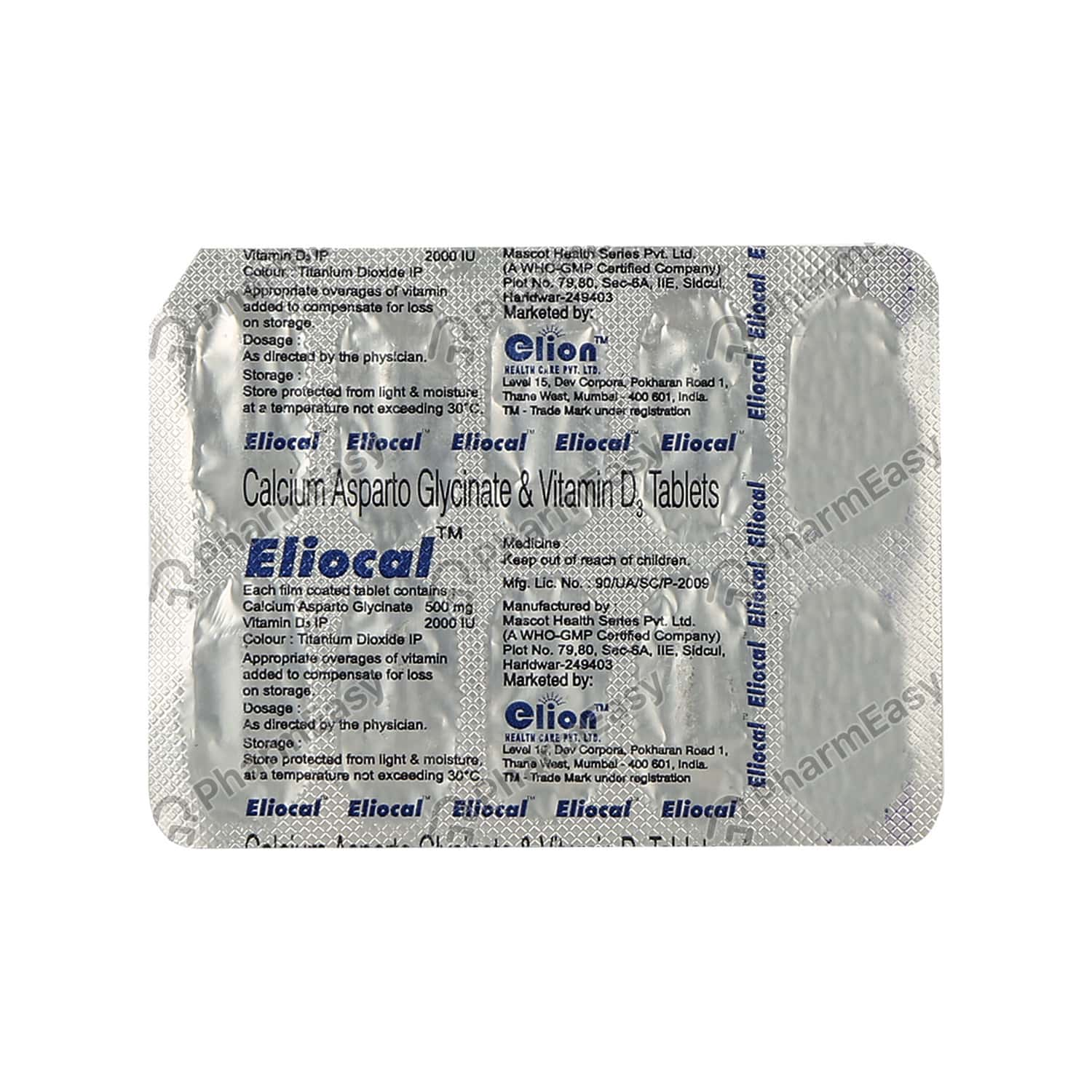 Eliocal Tablet